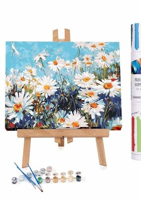 Winnie's Picks Paint by Number Field of Daisies