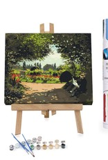 Winnie's Picks Paint by Number Adolphe Monet Reading in the Garden