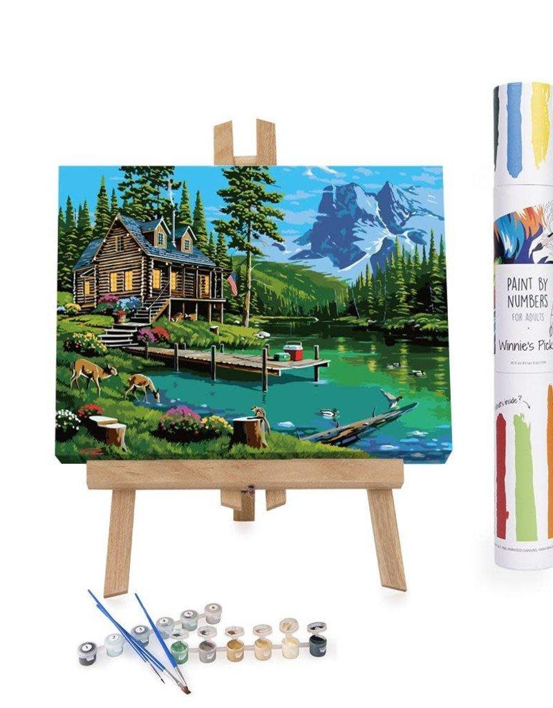 Winnie's Picks Paint by Number Hidden Harmony