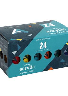 Art Alternatives Classic Acrylic Paint 24 Color Set