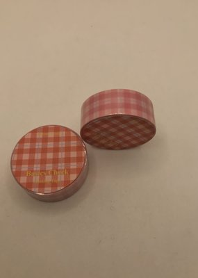 collage Washi Red Plaid