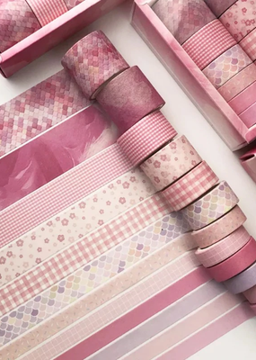 collage Washi Pack Cherry Pink Party