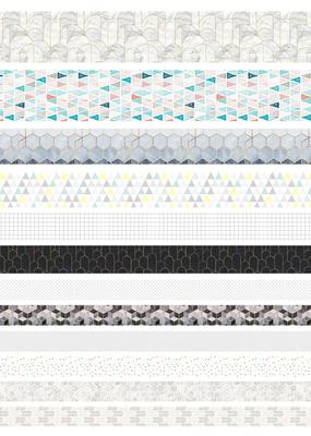 collage Washi Pack Geometric Figure