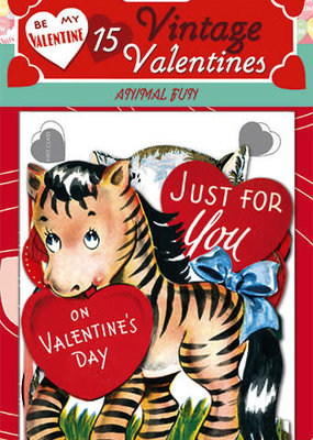 Laughing Elephant Vintage Valentines Fun With Animals
