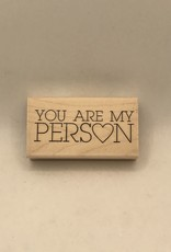 collage Stamp You Are My Person