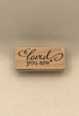 collage Stamp Loved You Are