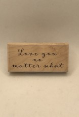 collage Stamp Love You No Matter What