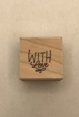 collage Stamp With Love