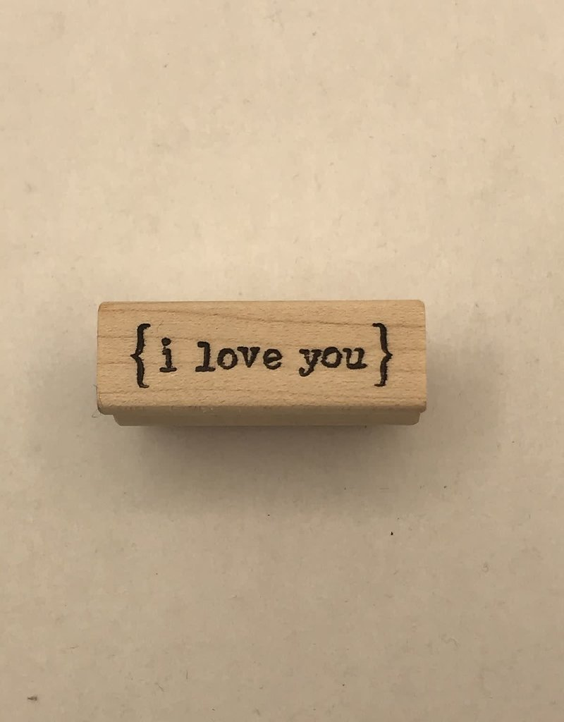 collage Stamp I Love You
