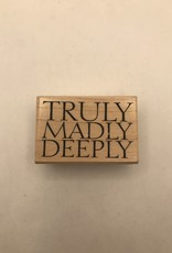collage Stamp Truly Madly Deeply