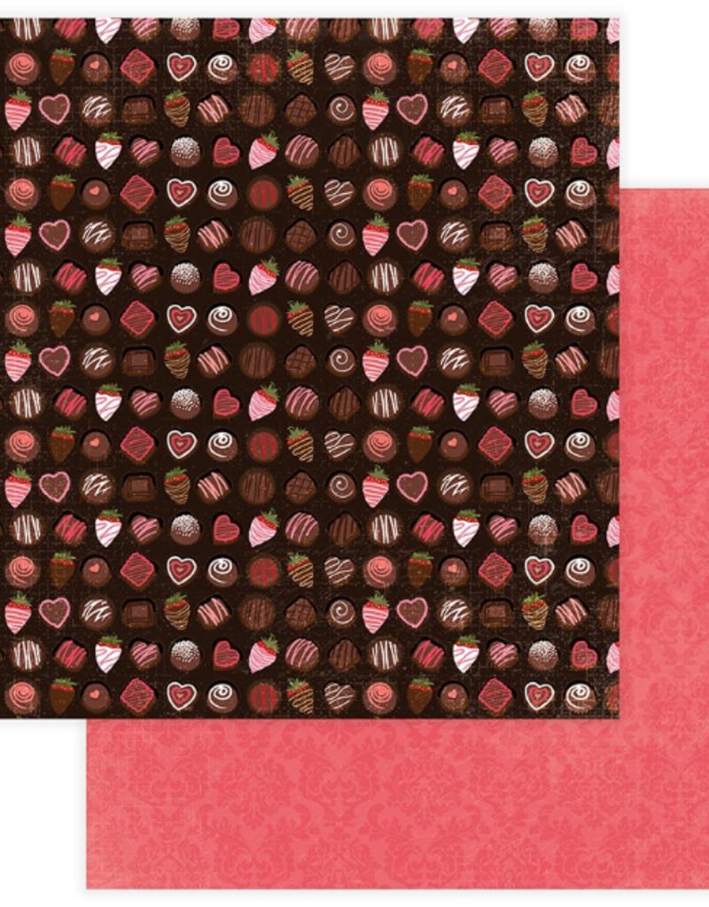 Photo Play Paper Company 12 X 12 Paper Box of Chocolates