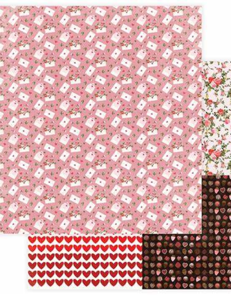 Photo Play Paper Company 12 X 12 Paper Love Letter