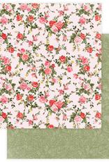 Photo Play Paper Company 12 X 12 Paper Dozen Roses