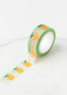 Ilootpaperie Washi Yellow Vintage Watering Can