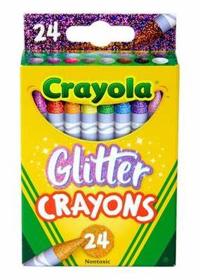 Glitter Crayon Set Of 24