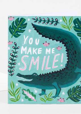 Papio Press Card You Make Me Smile