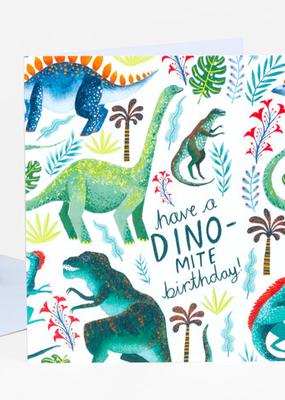 Papio Press Card Dino-Mite Birthday