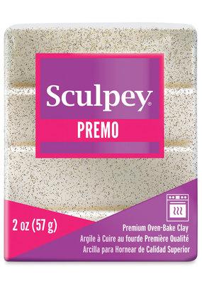 Sculpey Sculpey Premo Sculpey Accents 2oz Frost White Glitter