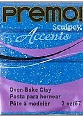 Premo Premo Sculpey Accents Blue Glitter