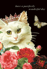 P Flynn Design Card Have A Purrfectly
