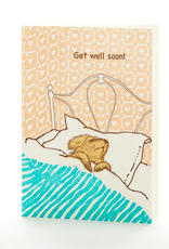Ilee papergoods Card Sick Dog Get Well Soon