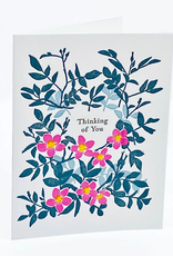 Ilee papergoods Card Roses Thinking Of You