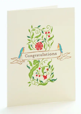 Ilee papergoods Card Robins Congratulations