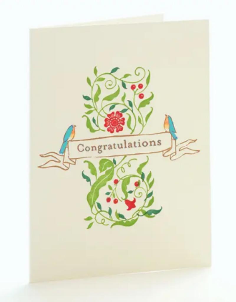 Ilee papergoods Card Robins Congratulations