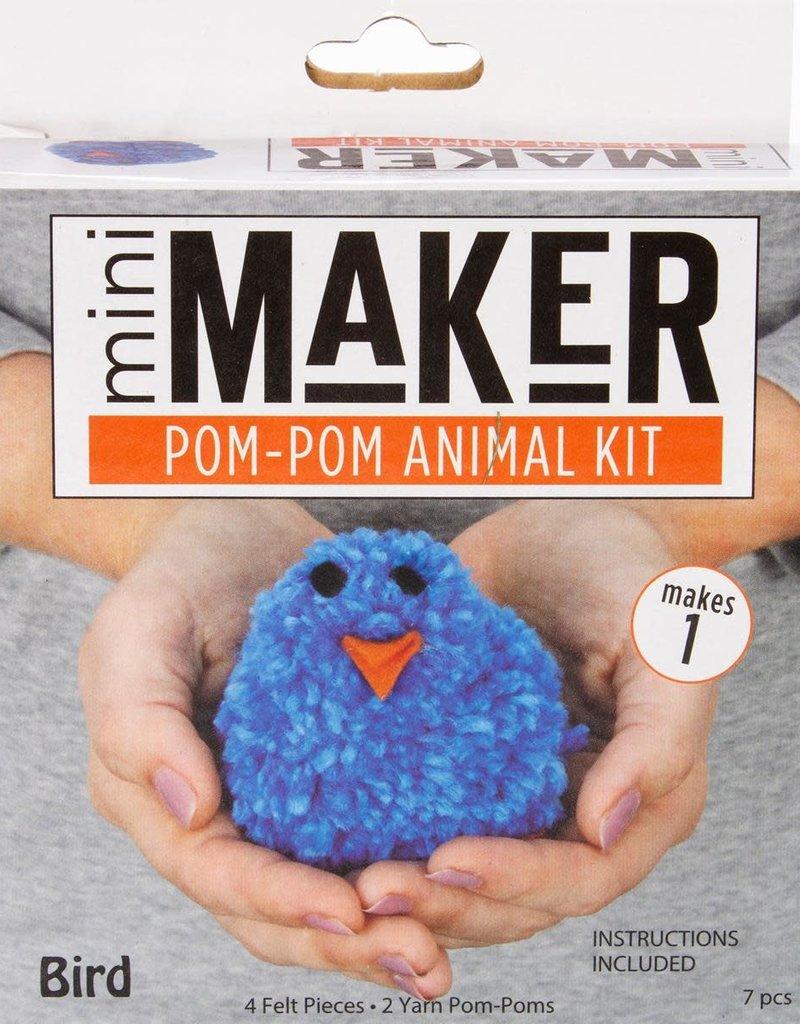 Leisure Arts Mini Maker Pom Pom  Bird