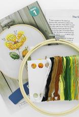 Leisure Arts Embroidery Kit  Poppy