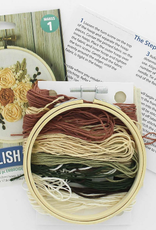Leisure Arts Embroidery Kit   English Roses