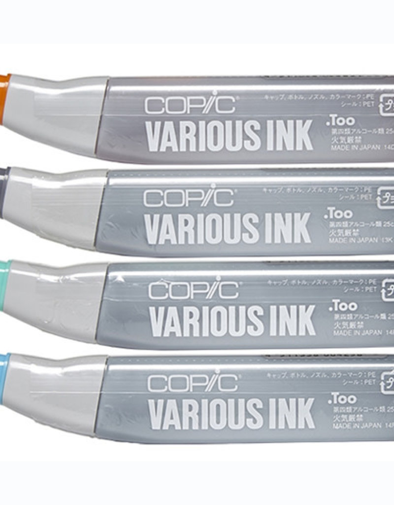 Copic Copic Various Ink Refills Yellow Greens