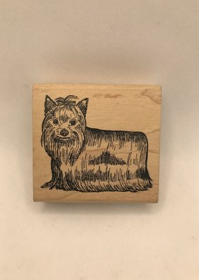 collage Stamp Yorkie