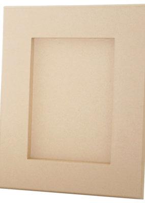 Papier Mache Paper Mache Rectangular Picture Frame 9.4 x 7.4