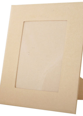 Papier Mache Paper Mache Rectangular Picture Frame 7.2 x 6  Inches