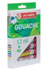 Art Creation Gouache Set of 8 12ml Tubes