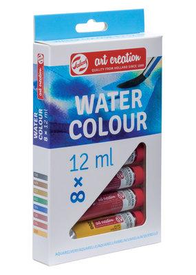 Art Creation Watercolor Set  8 12ml Tubes