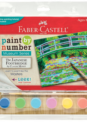 Faber-Castell Paint By Number Japanese Footbridge