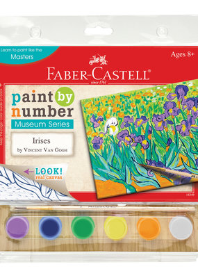 Faber-Castell Paint By Number Irises