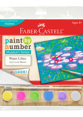 Faber-Castell Paint by Number Water Lilies