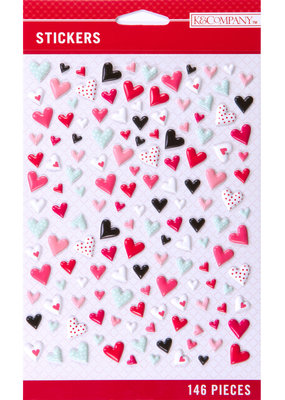 K & Company Stickers Mini Heart Pillow