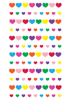 Sticko Stickers Teeny Mini Hearts