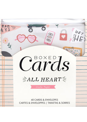 Crate Paper Boxed Cards All Heart