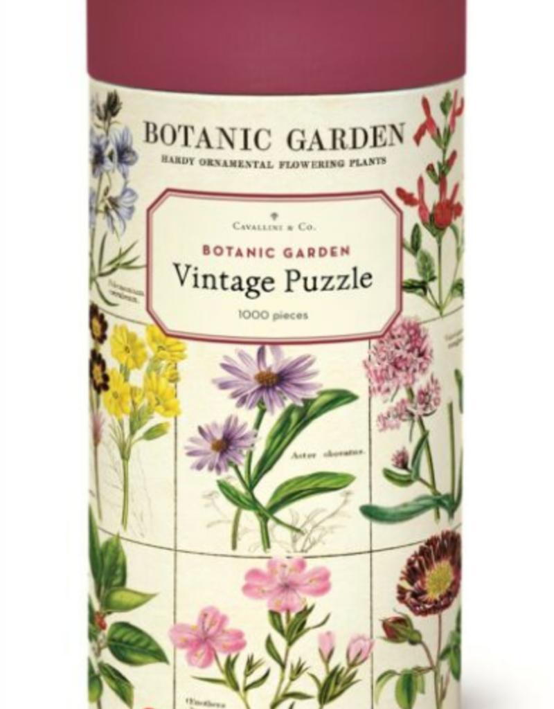 Cavallini 1000 Piece Jigsaw Puzzle Botanic Garden