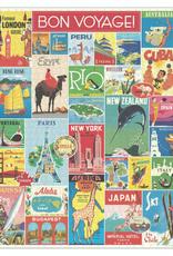 Cavallini 1000 Piece Jigsaw Puzzle Travel