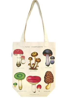 Cavallini Tote Bag Mushroom