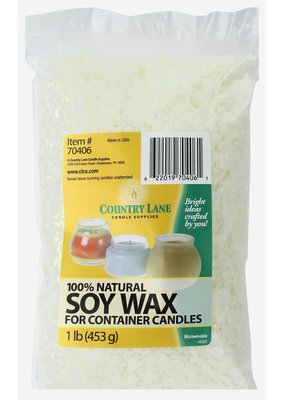 Country Lane Soy Wax For Candles 1 lb