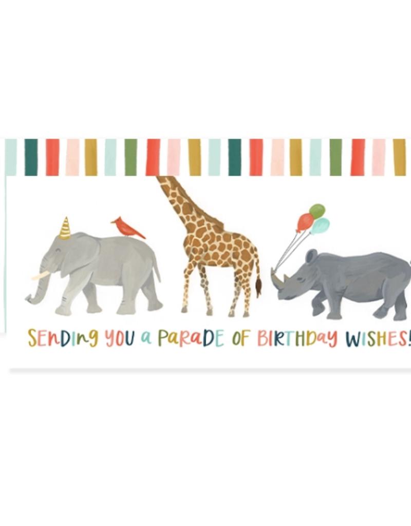 1 Canoe 2 Card Birthday Parade