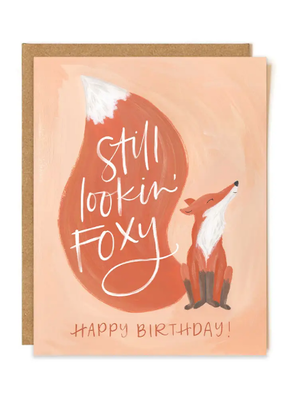 1 Canoe 2 Card Foxy Birthday