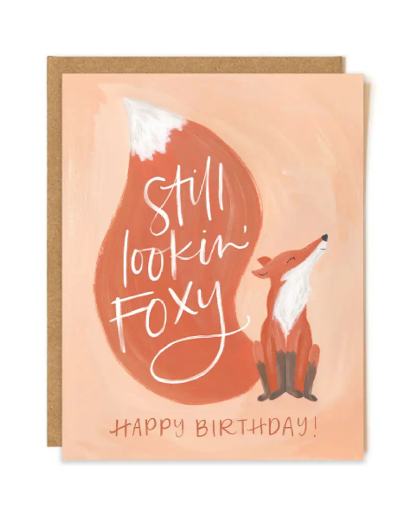 1 Canoe 2 Card Foxy Birthday